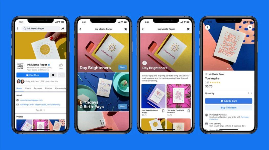 Facebook Shops: le pagine dei negozi diventano vetrine virtuali